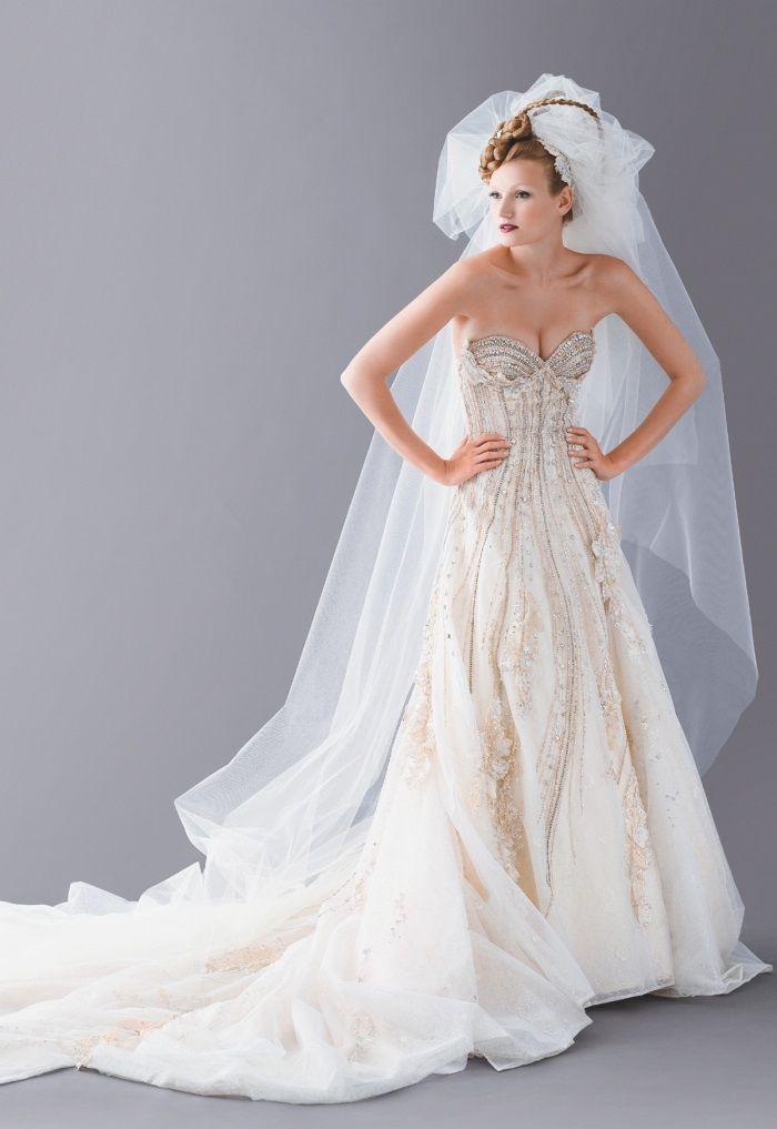Luxusní svatební šaty  4549012eda
