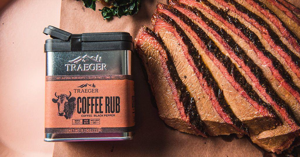 BBQ Brisket with Traeger Coffee Rub Recipe Brisket
