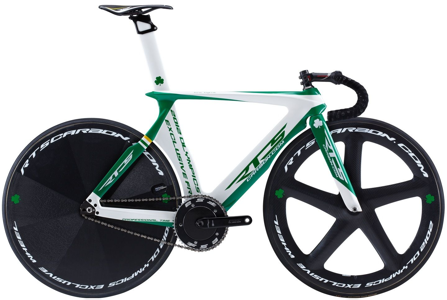 Rts Ttr1 Carbon Track Green White 2013 Bikes Cycles Trackbikes