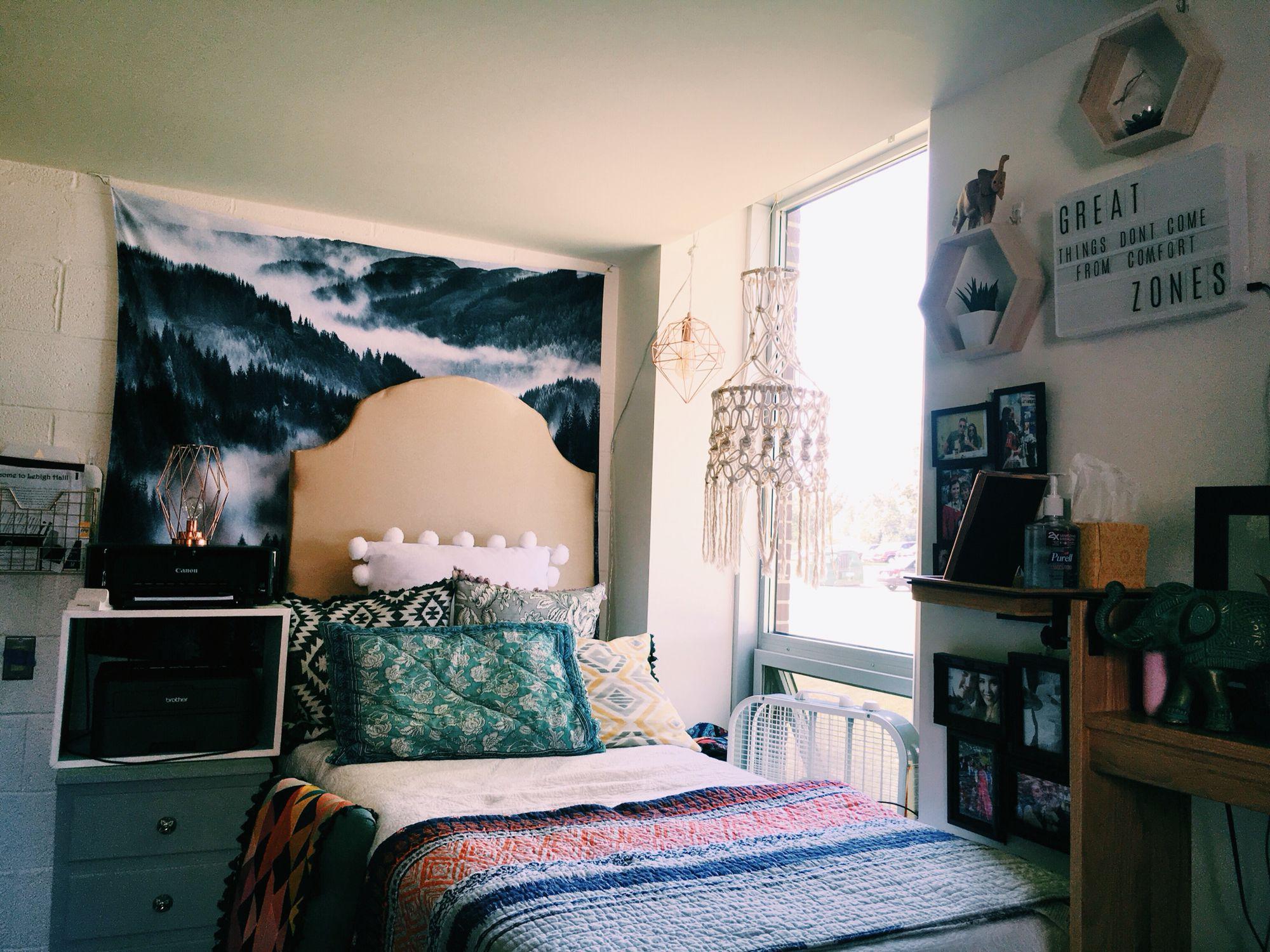 Dixon hall dorm room
