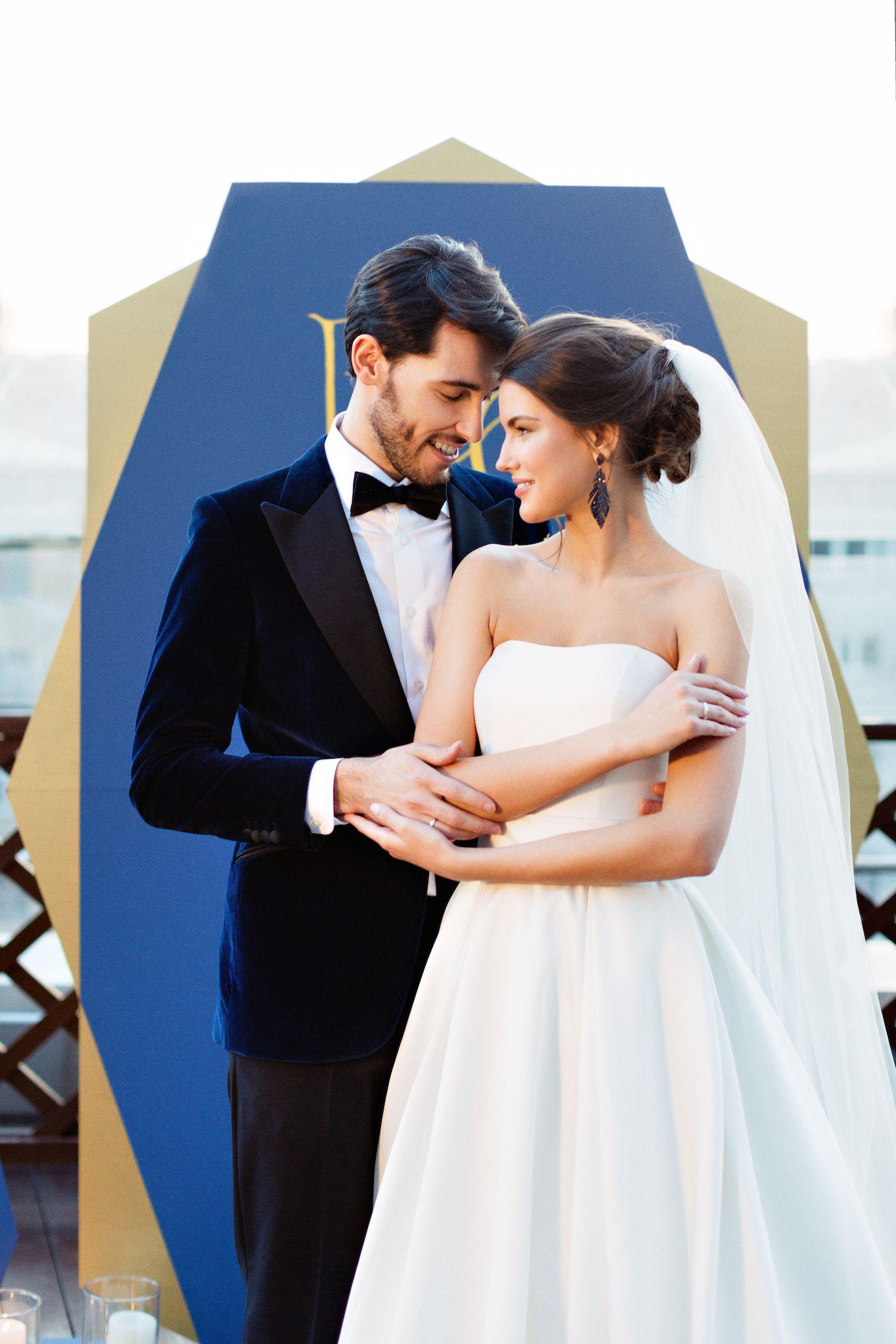 Счастливая пара в лучший день жизни #пара #жених #невеста ...
