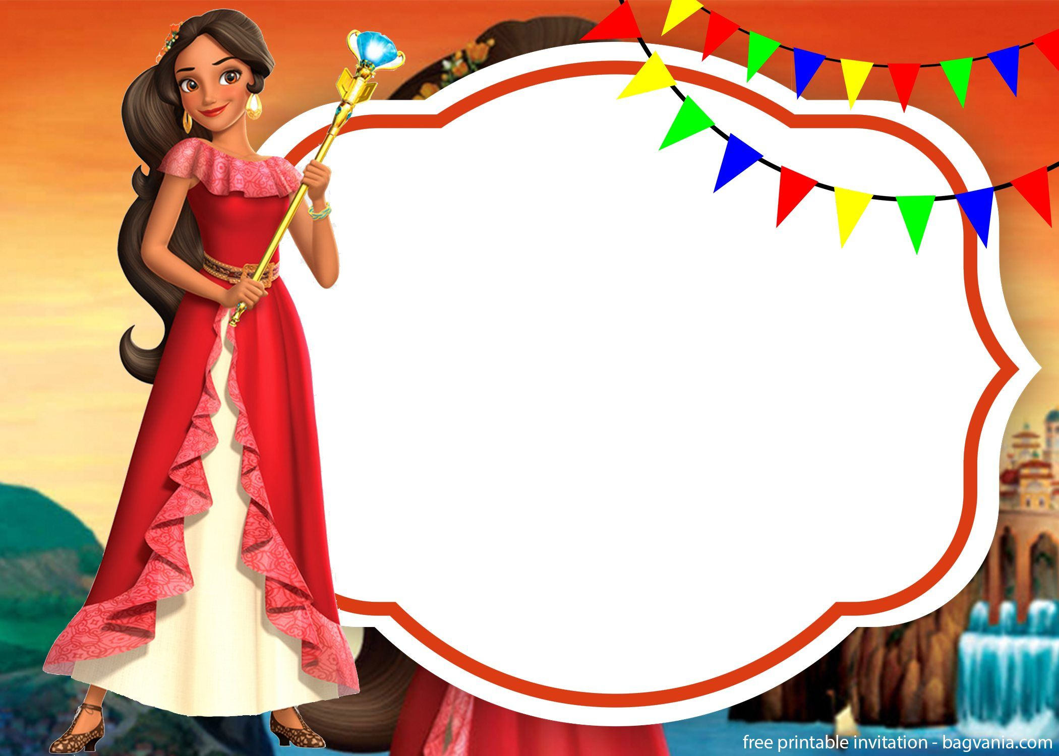 Free Elena Of Avalor Invitations For Your Lovely Princess