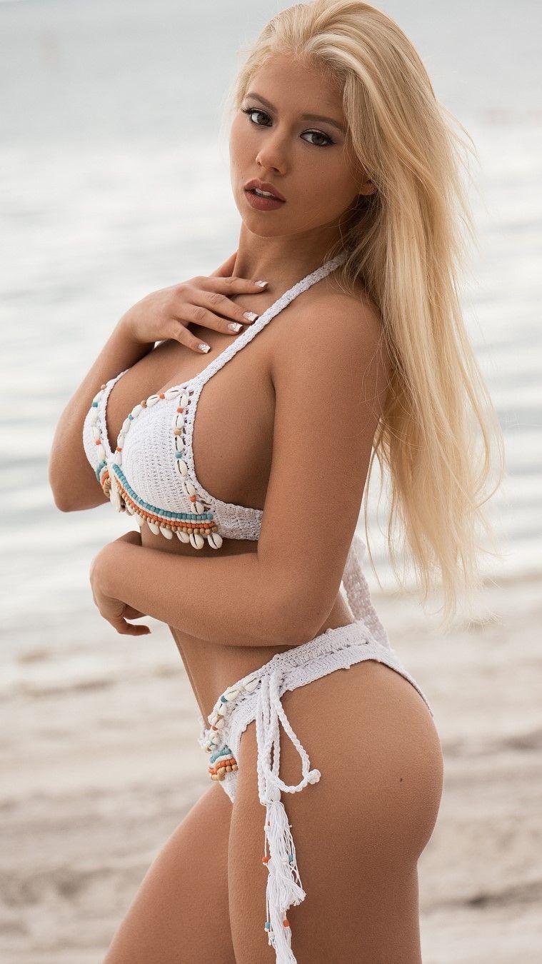 lost bikini blonde top Nice