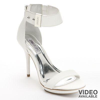 Jennifer Lopez Platform Dress Sandals