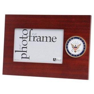 U.S. Navy Medallion Desktop Picture Frame