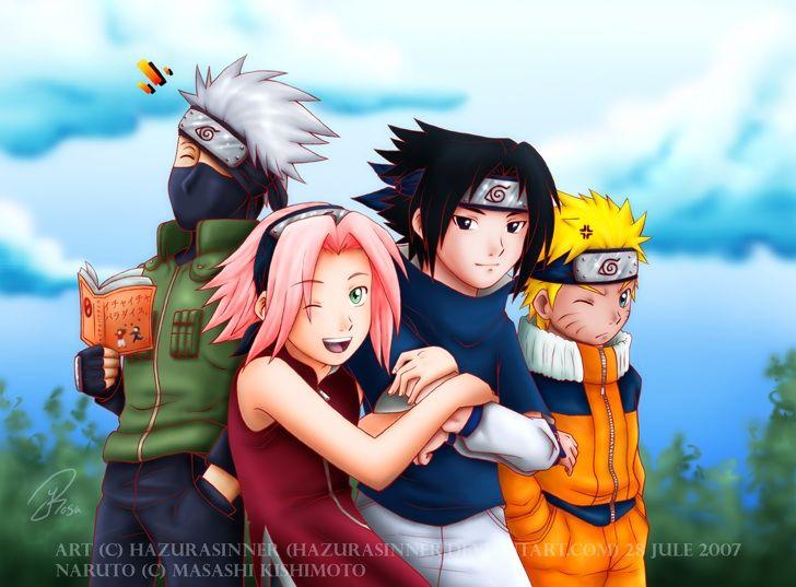 Naruto Team 7 With Images Naruto Teams