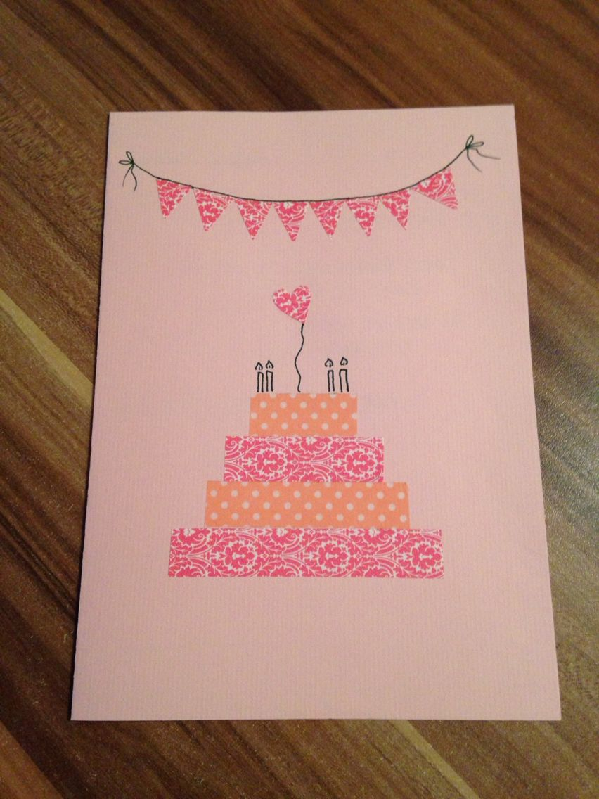 Schnelle und einfache einladungskarten zum kindergeburtstag kindergeburtstag einladung - Geburtstagskarte basteln kinder ...