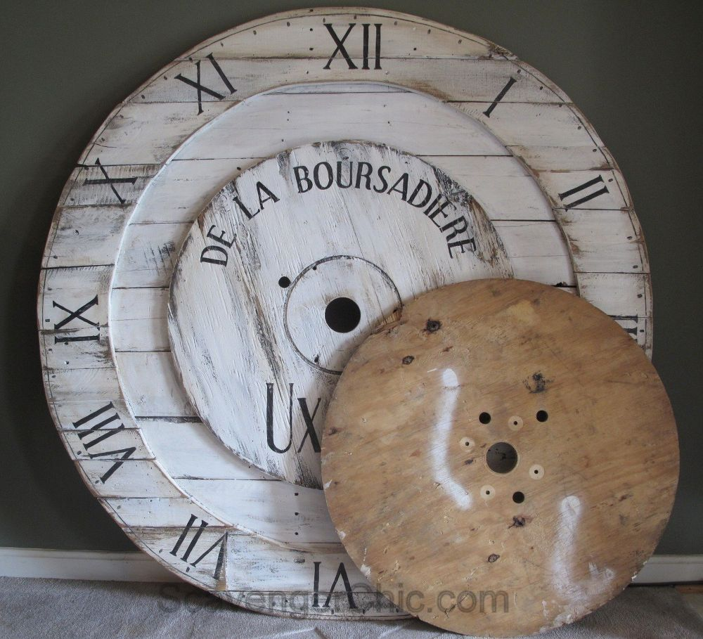 Big, Huge, Pottery Barn Inspired, Wall Clock