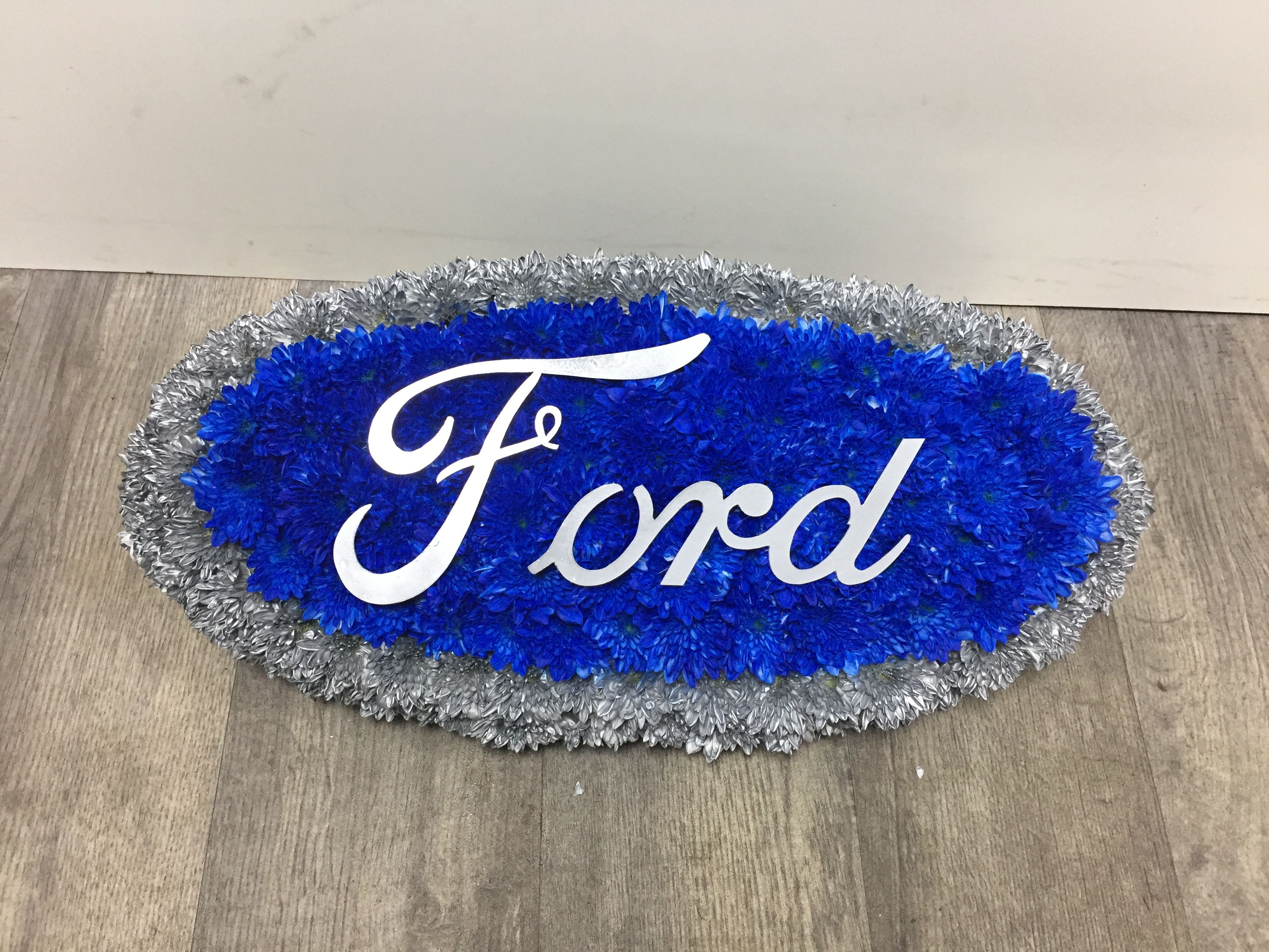 Ford badge bespoke funeral flowers 01909808129 the bespoke flower ford badge bespoke funeral flowers 01909808129 izmirmasajfo Image collections