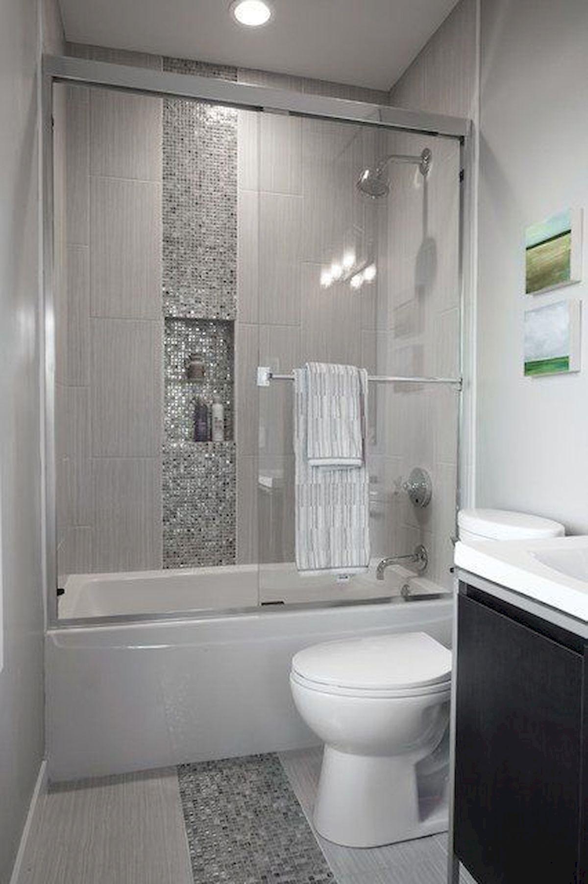 60 Elegant Small Master Bathroom Remodel Ideas (20 in 2019 ...