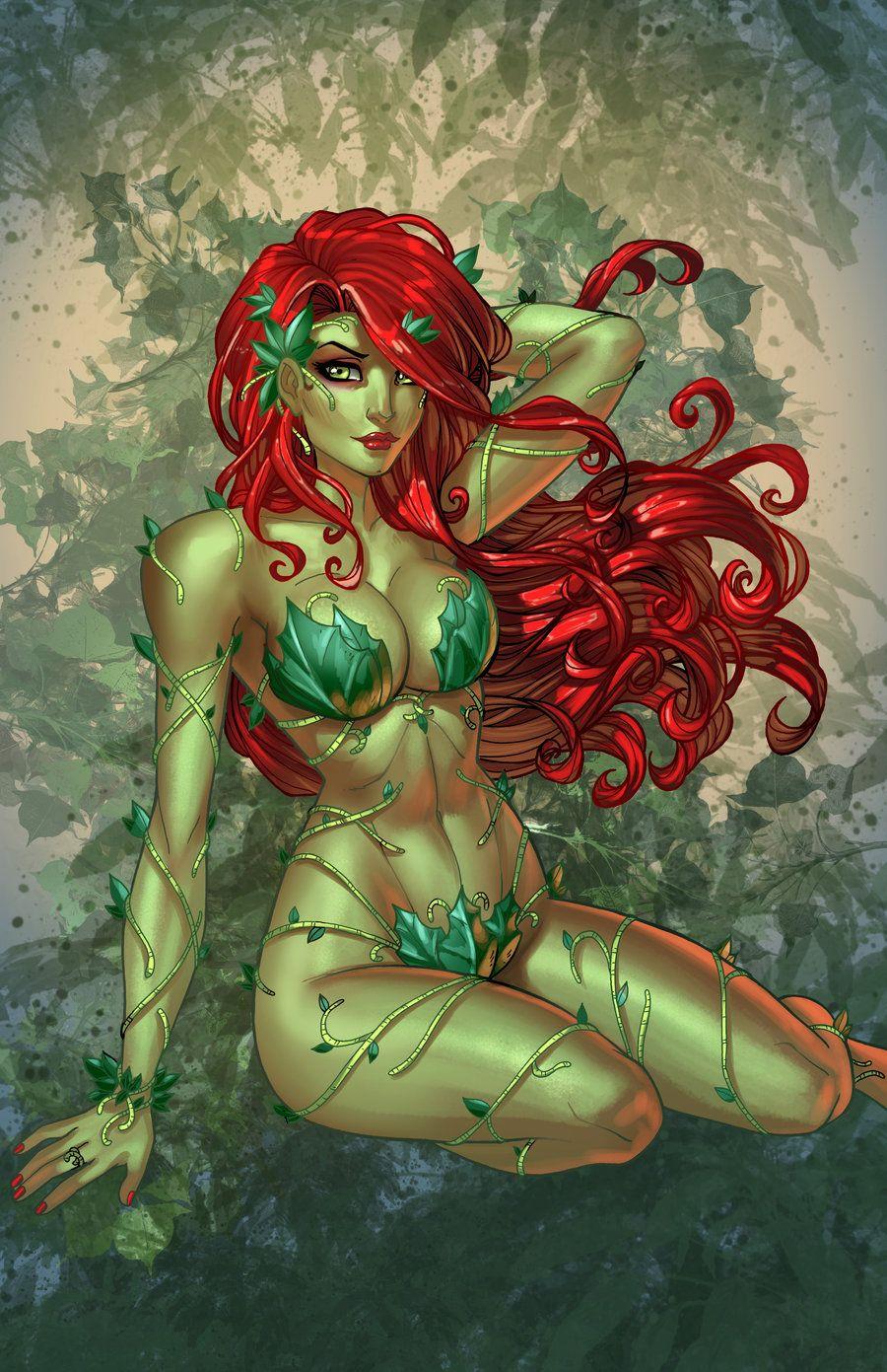 Poison Poison Ivy By Jamiefayxdeviantartcom On At Deviantart