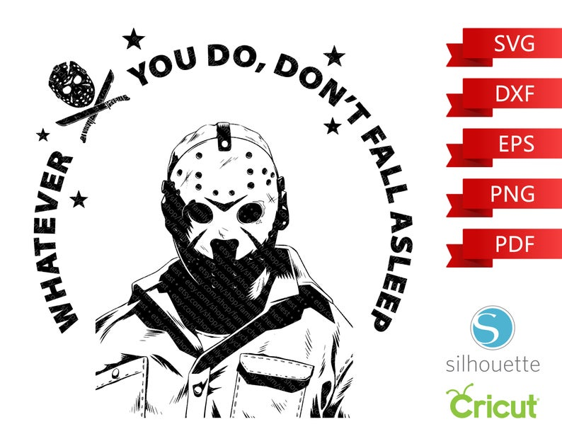 Friday The 13th Svg Halloween Svg Jason Voorhees Svg Scary Etsy In 2020 Cricut Halloween Cricut Scary Movie Quotes