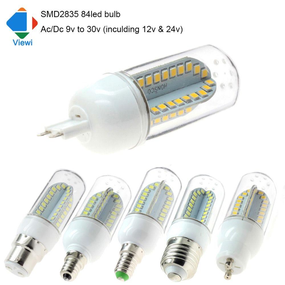 Viewi 10X e27 e14 e12 B22 Gu10 G9 lampada led lamp bulb Ac/Dc 12v ...