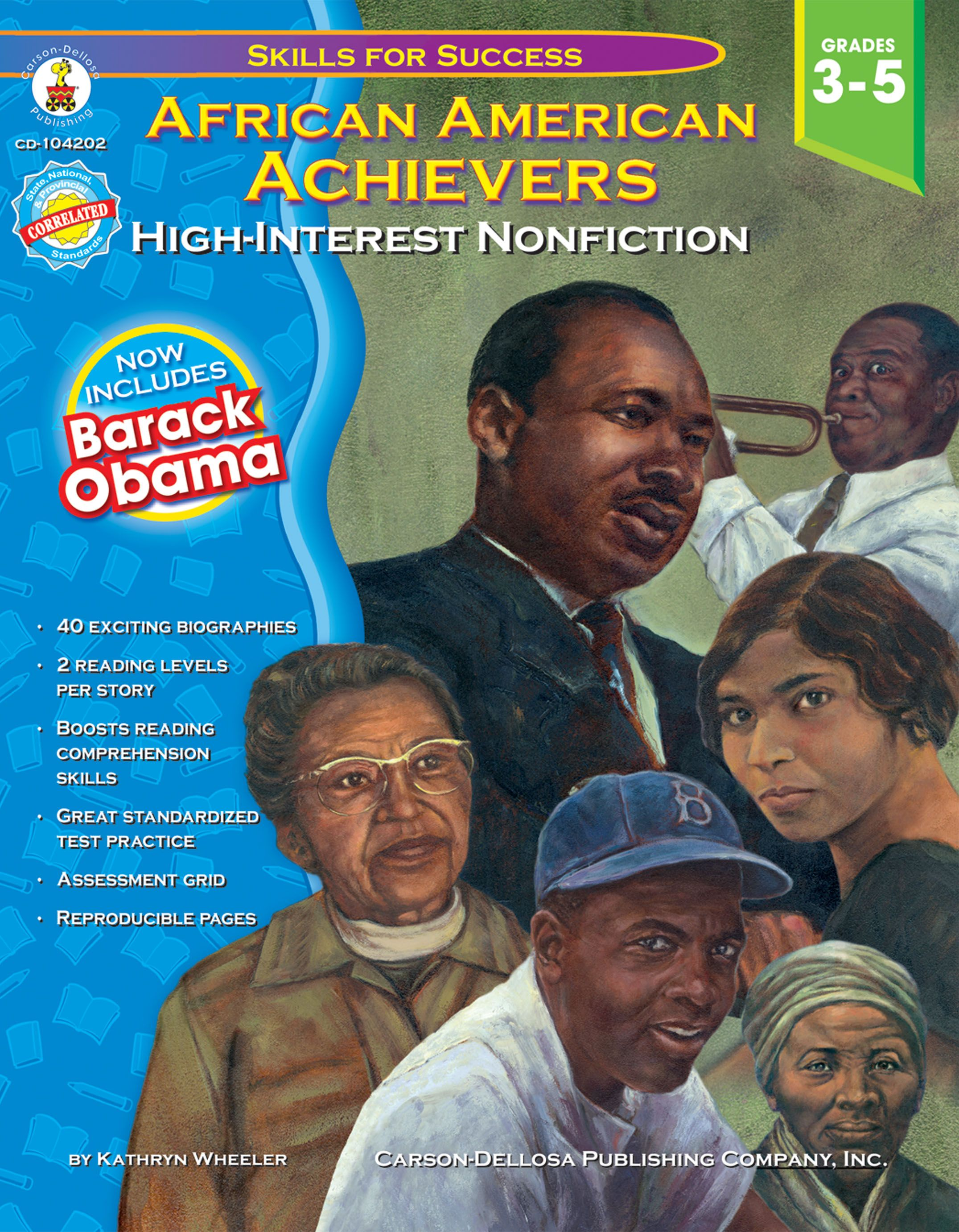 African American Achievers High Interest Nonfiction