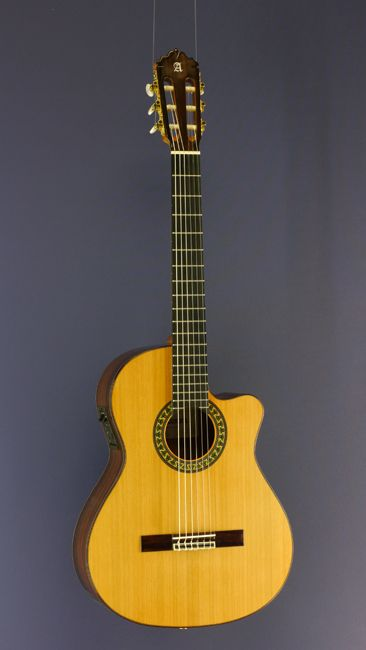 Electro acoustic classical guitars - Guitars with pickup - Die Zupfgeige - specialist shop for classical and acoustic guitars