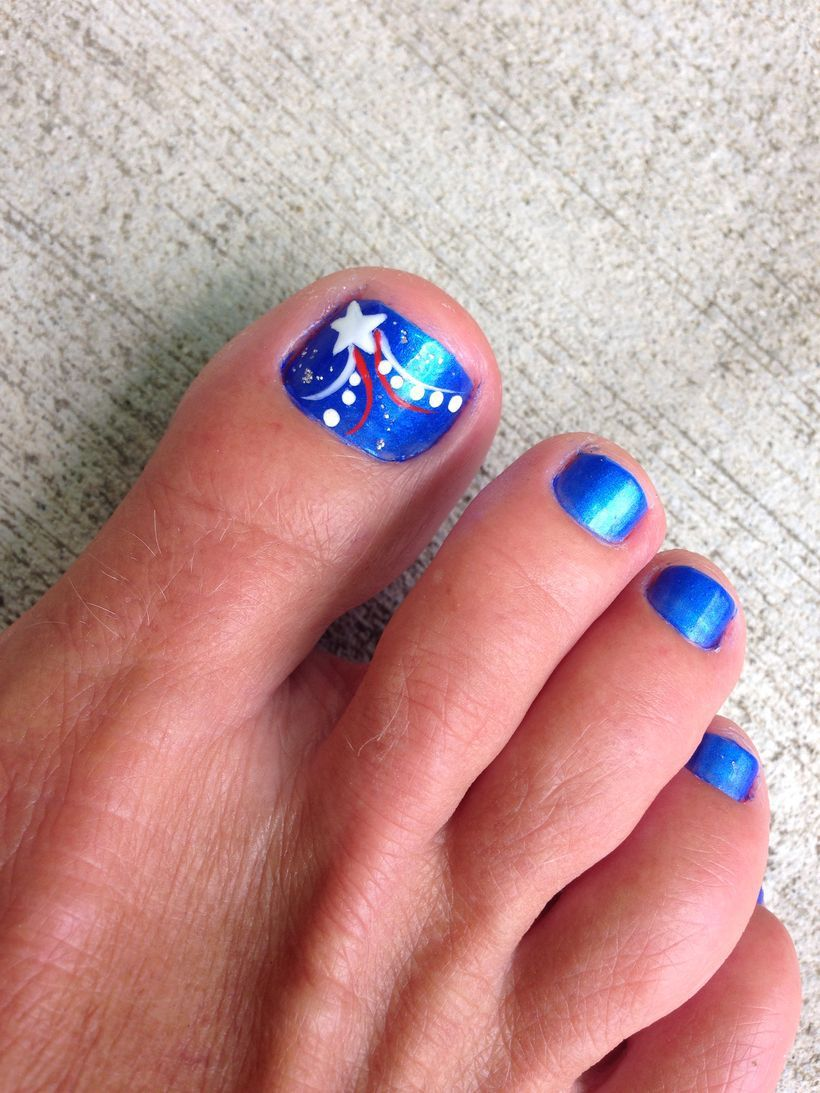75 Cool Summer Pedicure Nail Art Design Ideas | Pedicure nail art ...