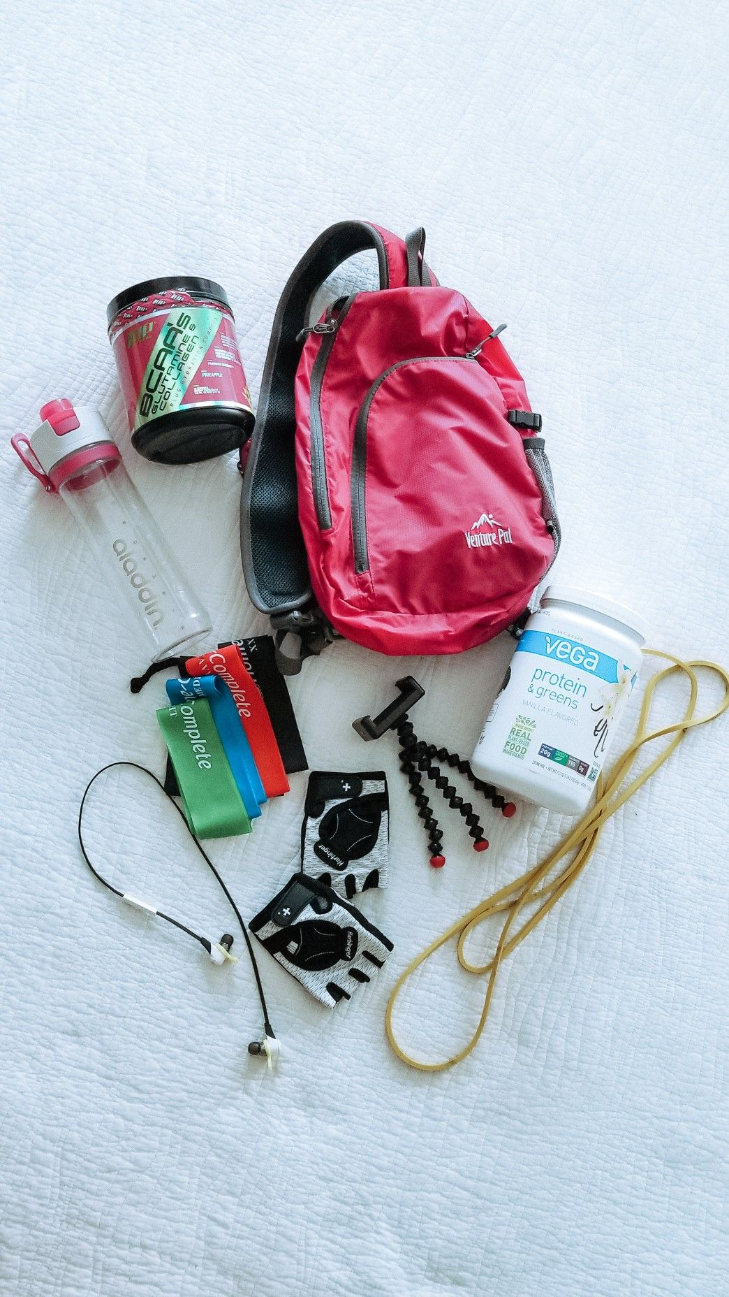 34f096858cac3f My workout essentials that I take to the gym with me. | Sweat Gear ...