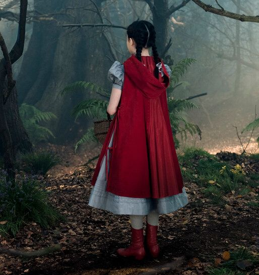 Little Red Riding Hood Cosplay Costume From Into The Woods With