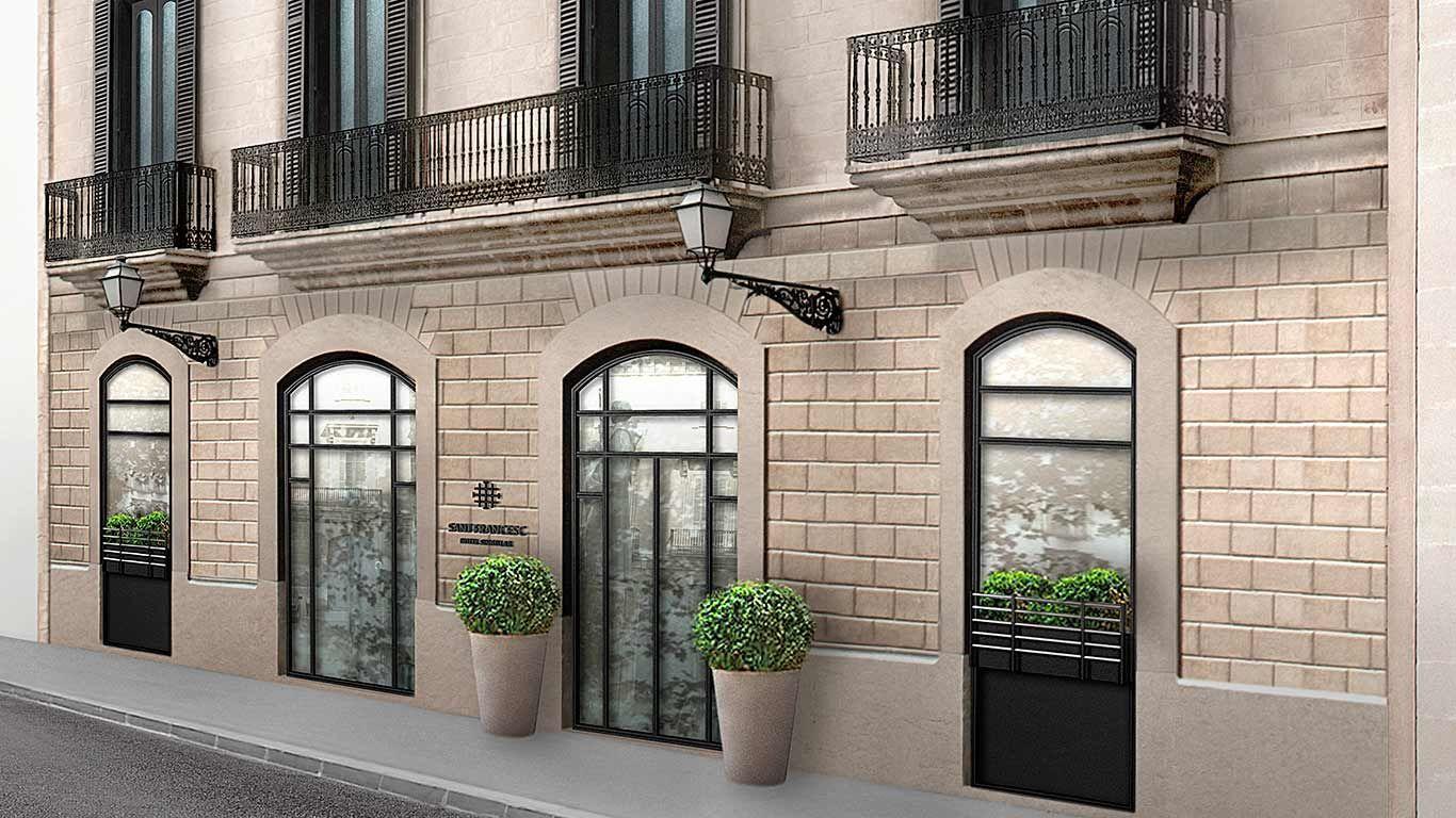 5 star design hotel sant francesc palma de mallorca for Design hotel palma