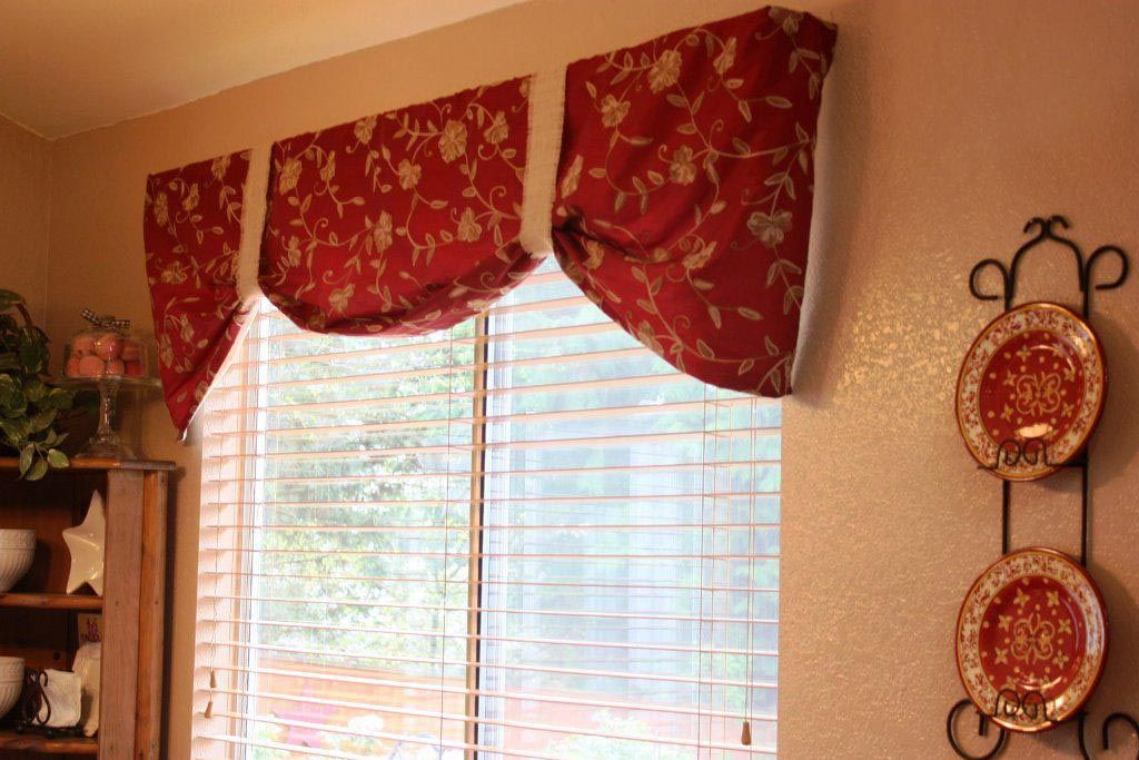 Red Valances For Kitchen Windows Kitchen Curtains And Valances Kitchen Valances Red Kitchen Curtains