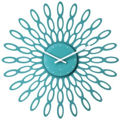 Everything Turquoise Daily Turquoise Shopping Blog Page 37 Wall Clock Teal Clocks Clock