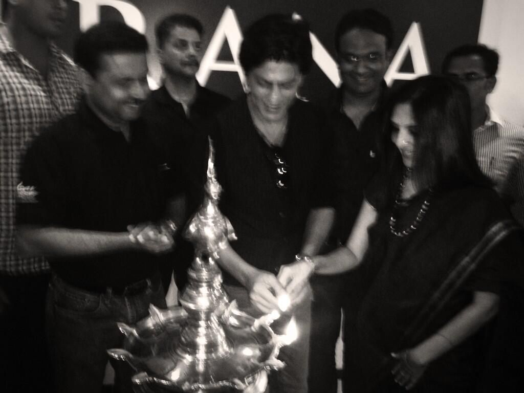 Twitter / iamsrk: At the Prana in Pune...tranquility reigns. Now to do some yoga...and onward #ChennaiExpress Rok sako to Rok lo!