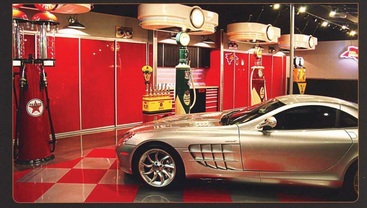 Dream Garage For A Sophisticated Gear Head Garage Design