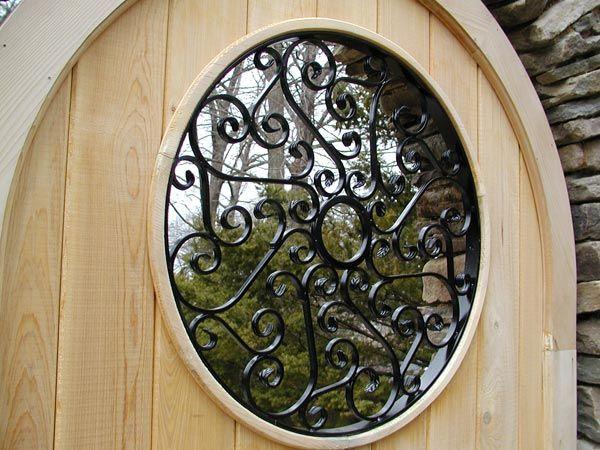 Wrought Iron Garden Gate Insert Ledgerock Design