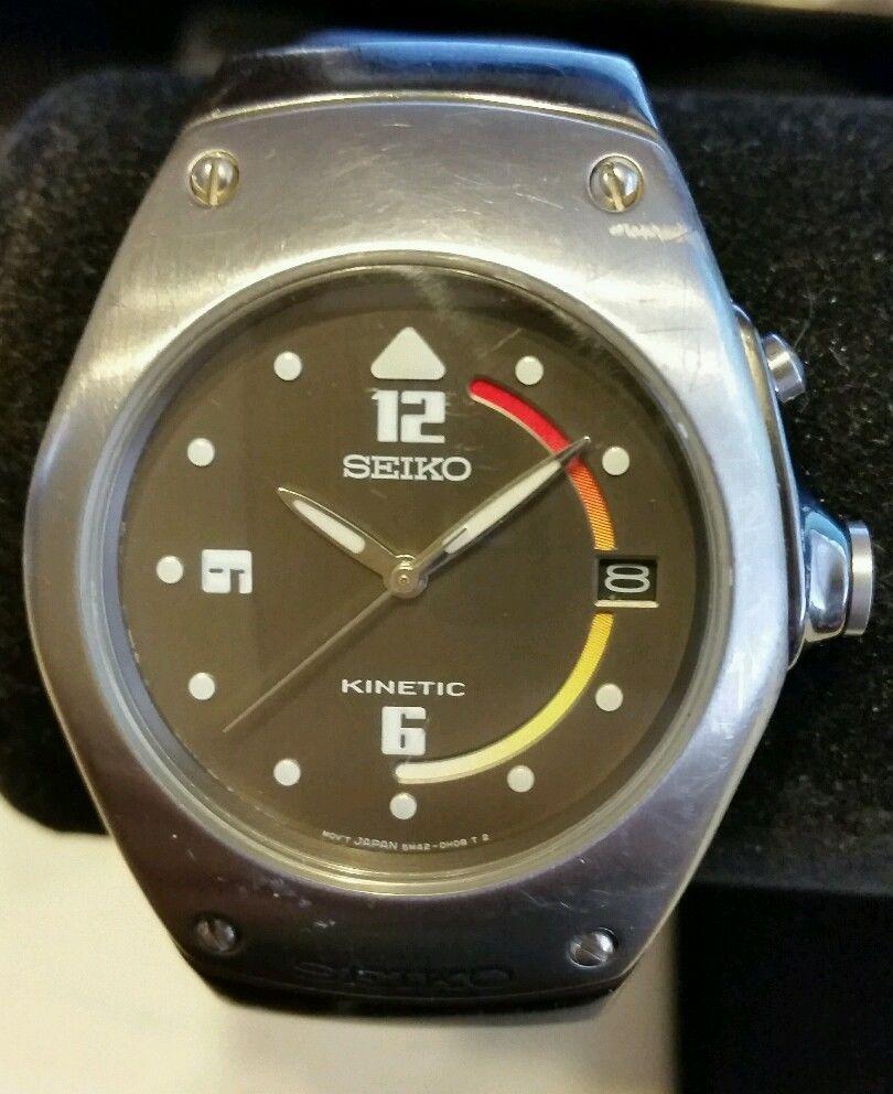 Authentic Seiko Kinetic Arctura 5M42-0E39