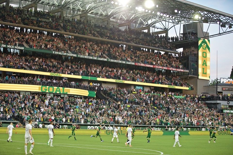 Timbers Providence Park June 1 2019 1st Home Game Vs Lafc In Newly Renovated Stadium Providence Park Portland Timbers Mls Cup