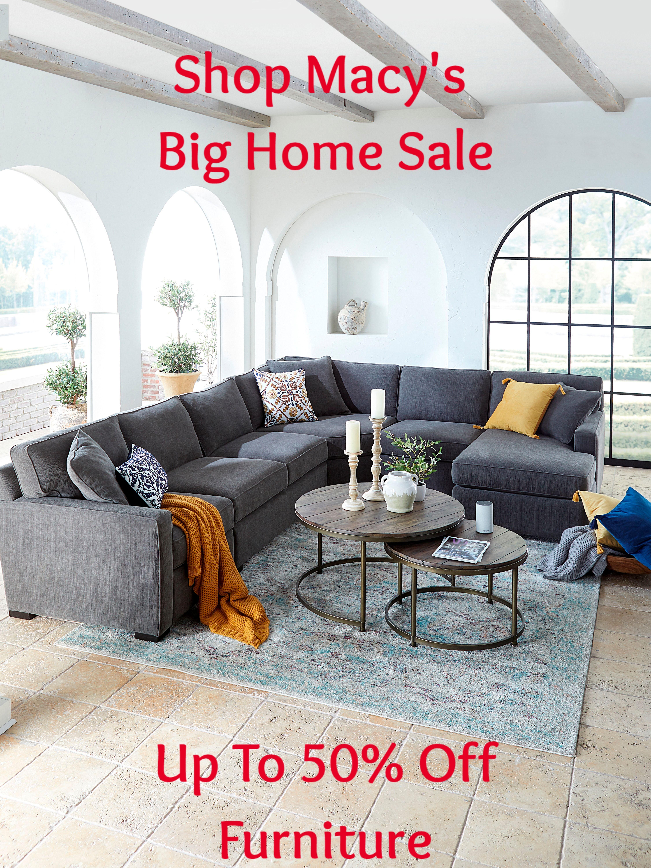 Shop Macy S Big Home Sale Living Room Sectional Small Living Room Design Living Room Setup