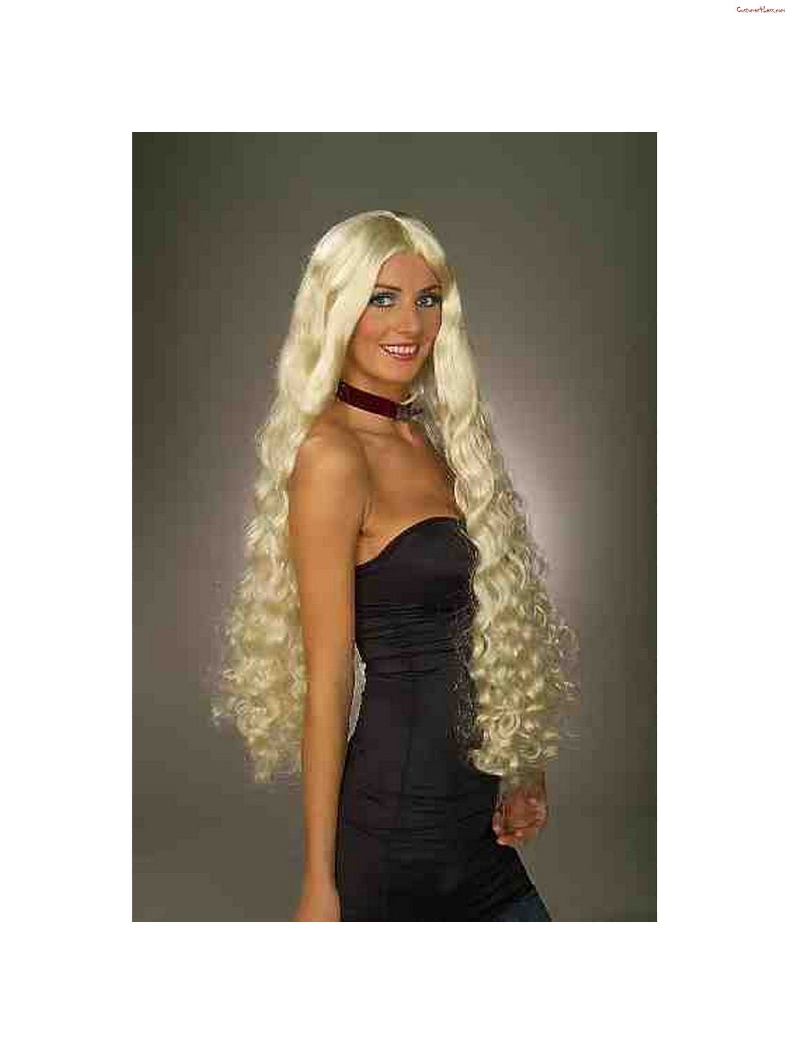 Blonde Mesmerelda Adult Wig Ad Halloween Costume Accessories Lace Costume Costume Wigs