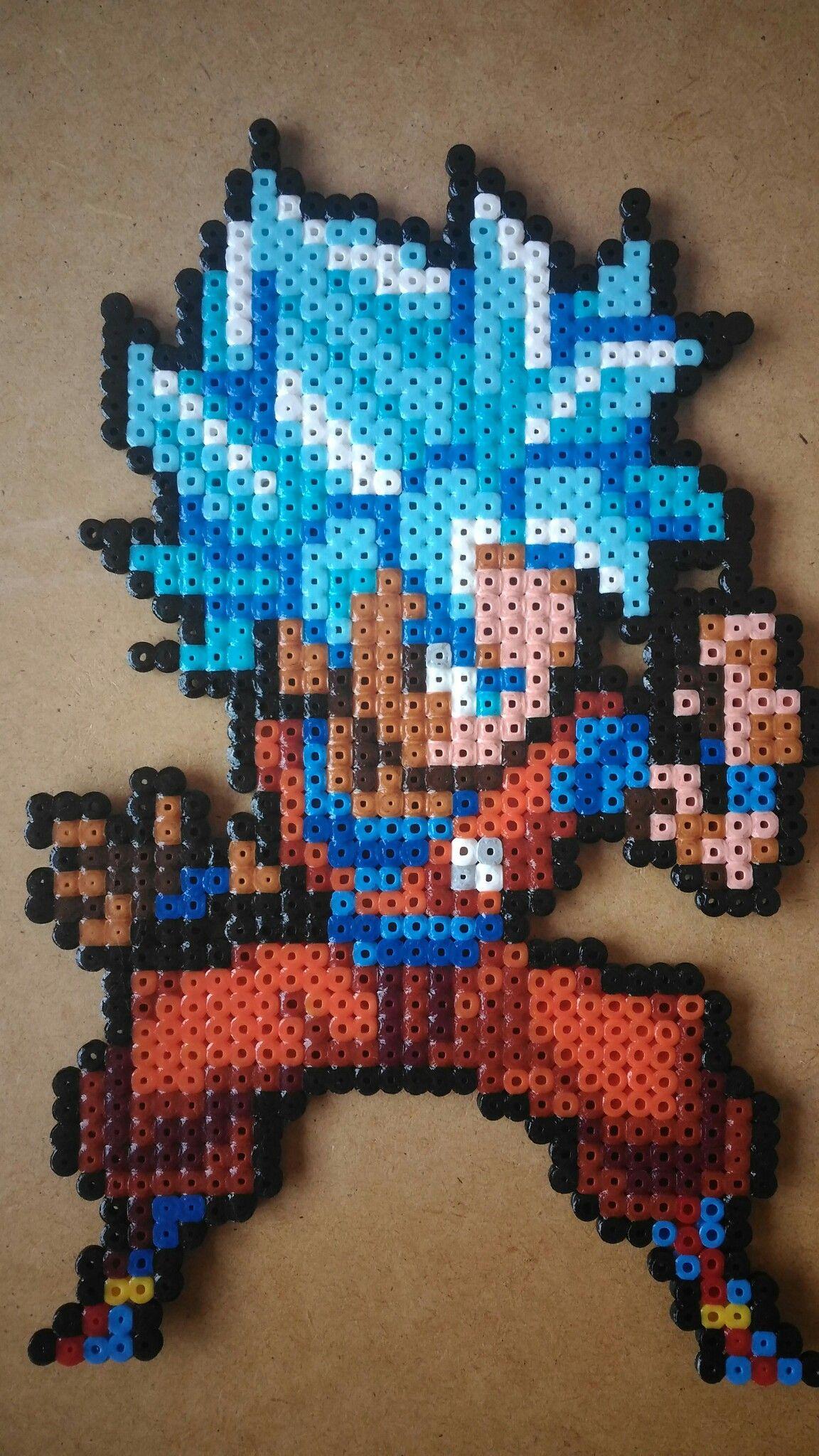 Dragon Ball Z Perler Bead Pattern Bugelperlen Bugelperlen