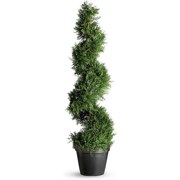 Cypress Corkscrew Artificial Topiary Artificial Topiary Small Artificial Plants Artificial Plants
