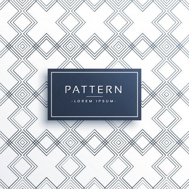 Minimalist Geometric Pattern Design