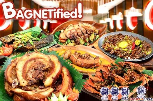 p349 for p500 worth of food and drinks at bagnetified sm north edsa rh pinterest com
