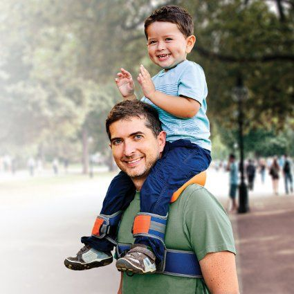 Way too late to use for my children--and, in many cases, for my grandchildren, but it's a great idea anyway!  --  SaddleBaby - Shoulder Carrier, Original