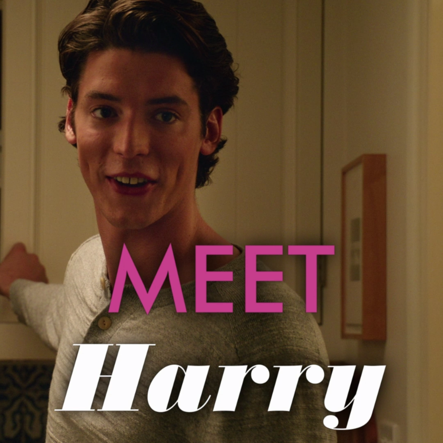 Pico Alexander Is Harry In The New Film From The Producer Of The