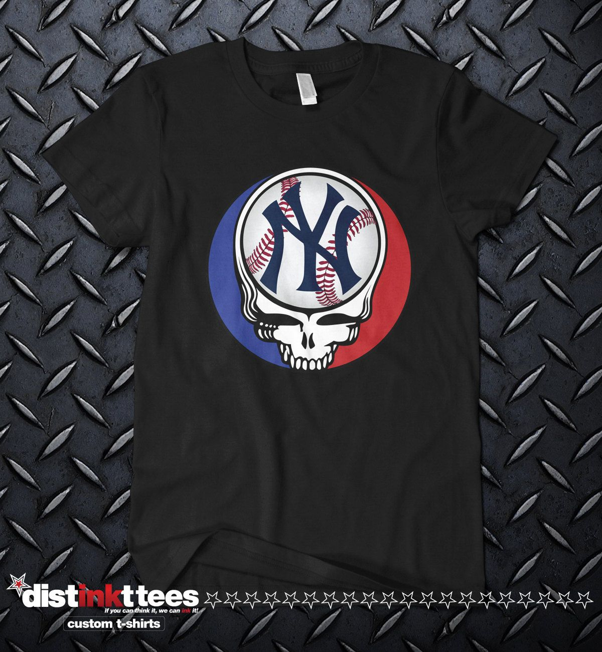 Steal Your Face YANKEES t-shirt fcad92186a8