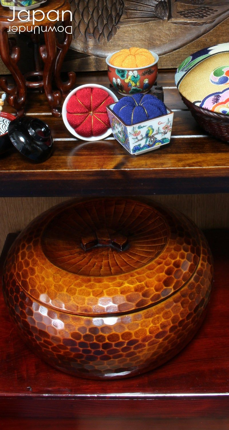 Vase not included Antique Japanese Red Lacquerware Display Tray