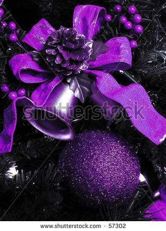 Purple Decorated Christmas Tree - Bing Images | Merry ... Christmas Trees Decorated Purple