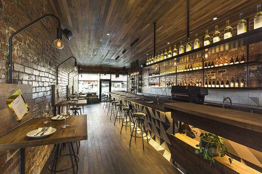 Gallery Of The Milton Biasol 9 Restaurant Interior Design Bar Design Restaurant Interior