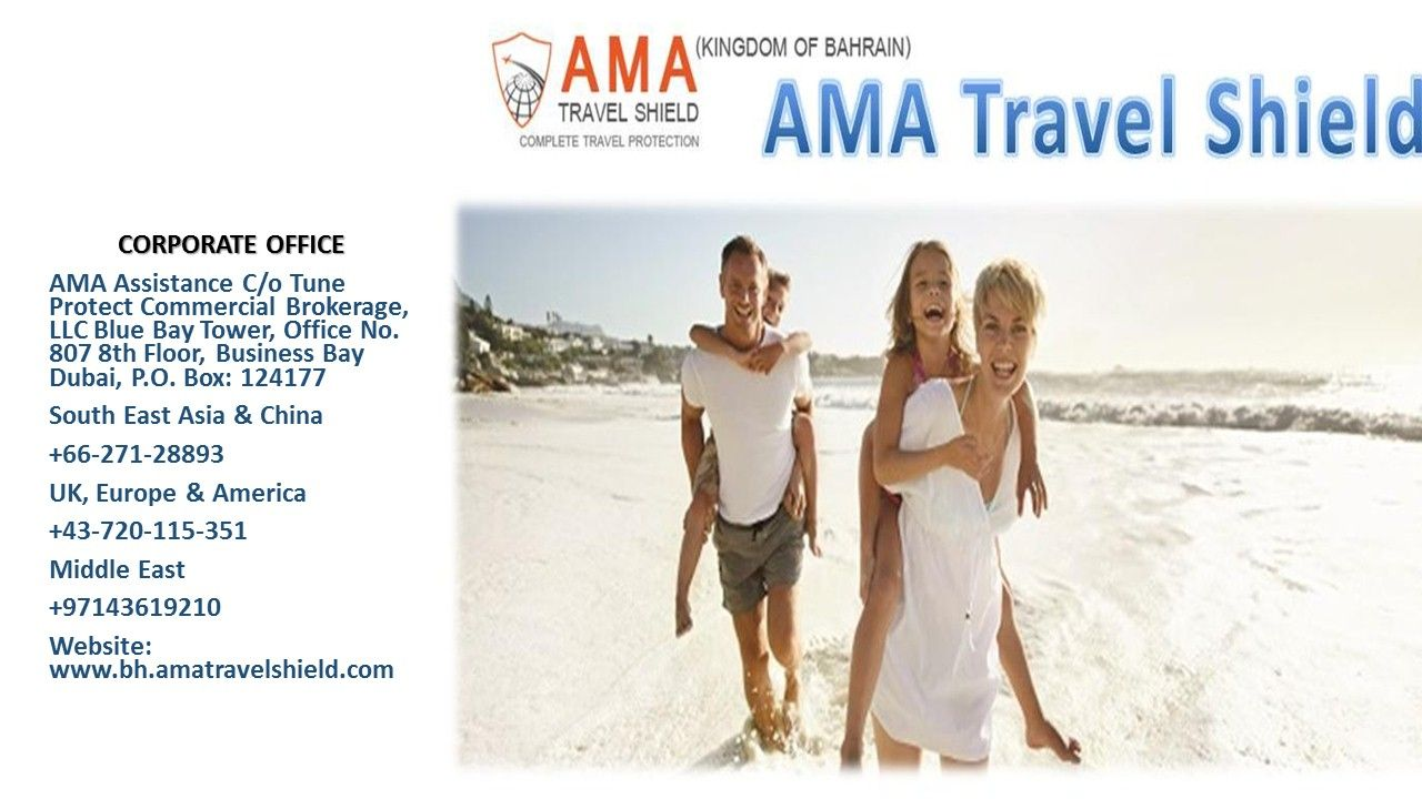 Get Travel Insurance Service In Bahrain From Ama Travel Shield