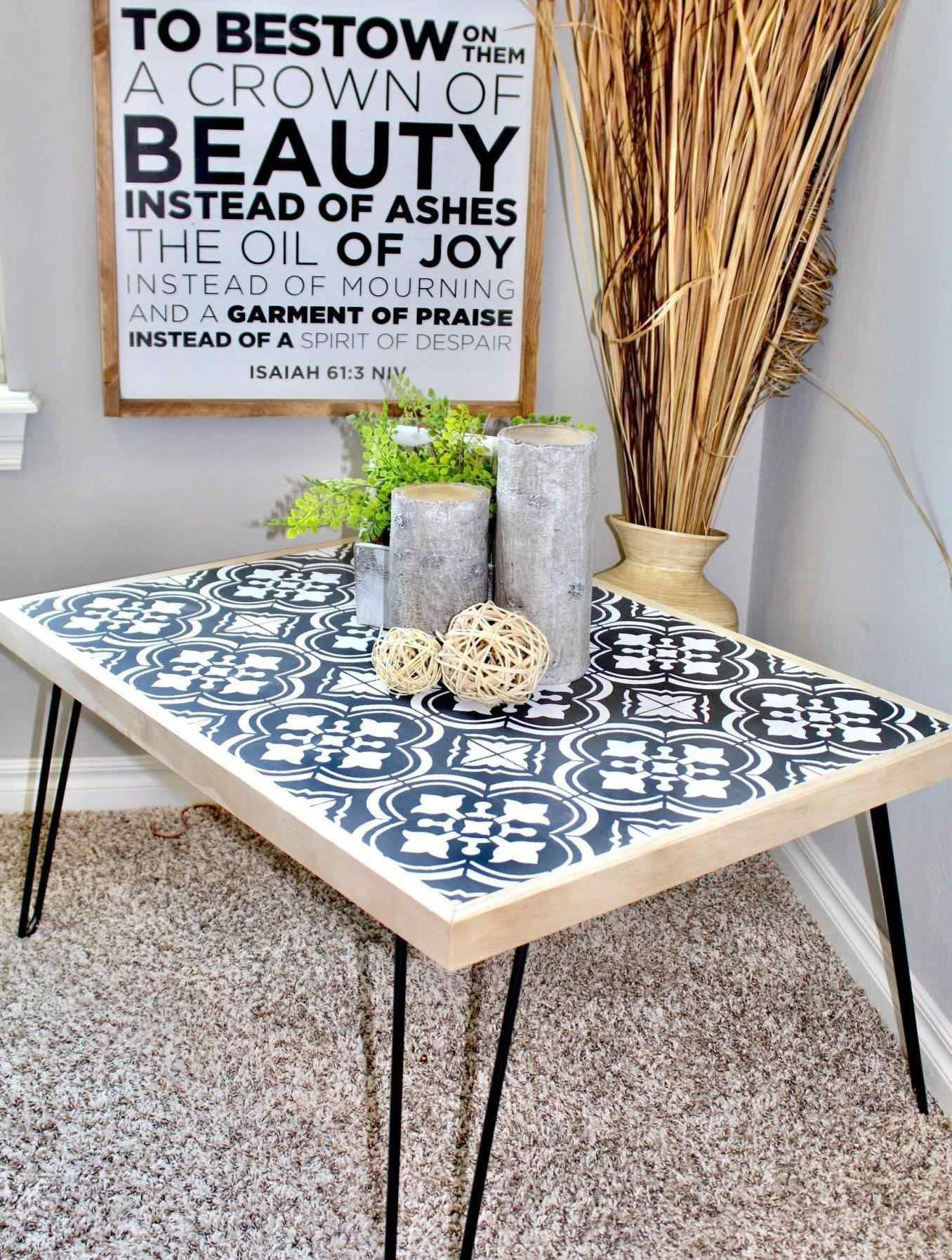 - Inspiring Gorgeous Diy Tile Coffee Table Design For Easy Build