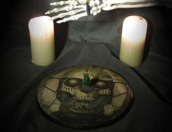 Lord Mock's Skull Pendulum Board by LordMockDesigns on Etsy, $85.00