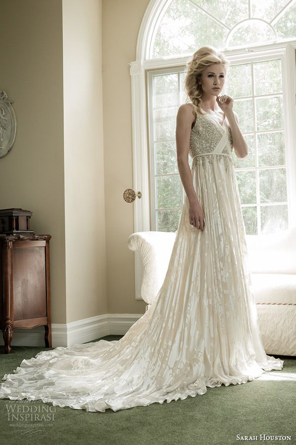 Sarah Houston Spring 2015 Wedding Dresses | Bridal collection ...