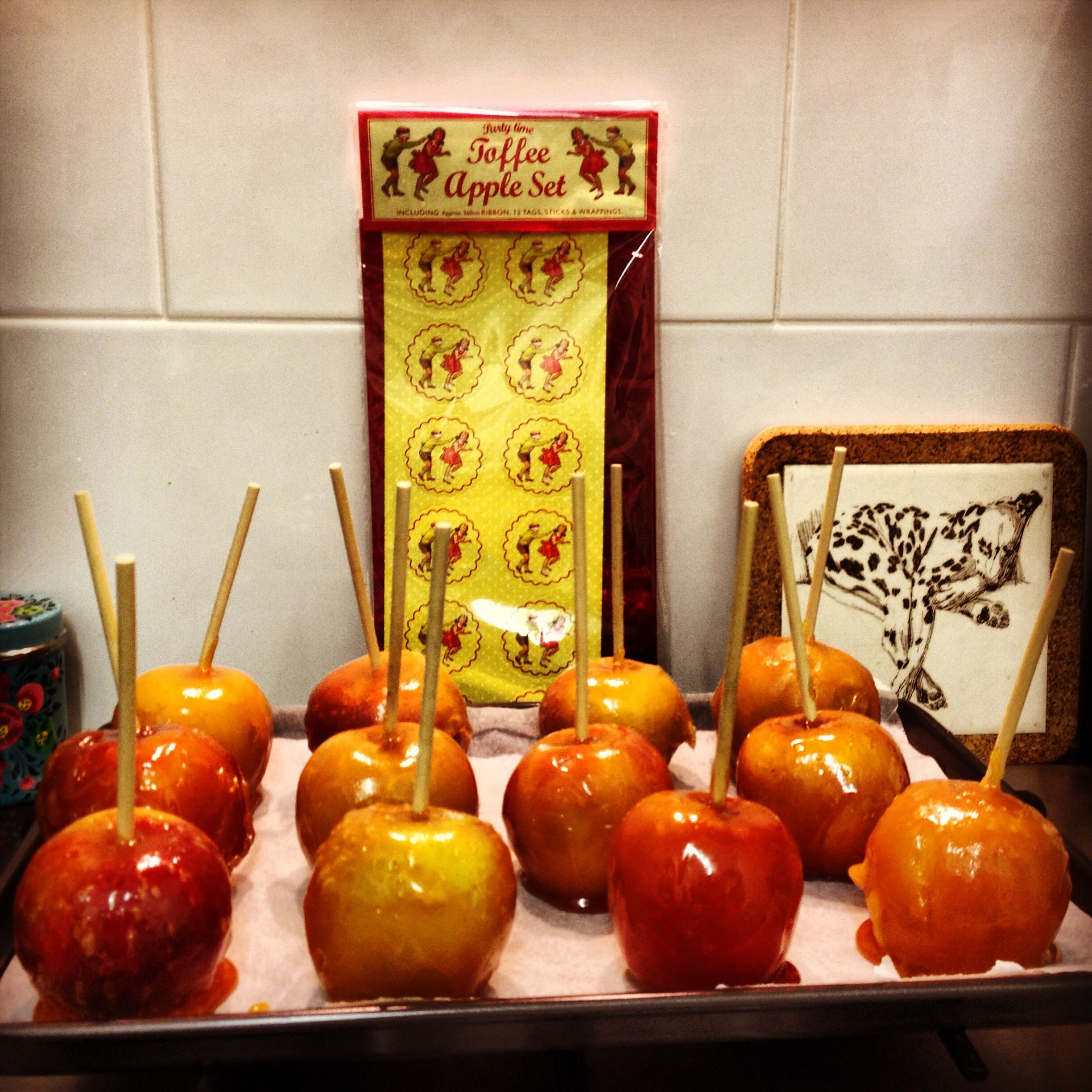 Toffee Apples For Parkinson S Uk Halloween