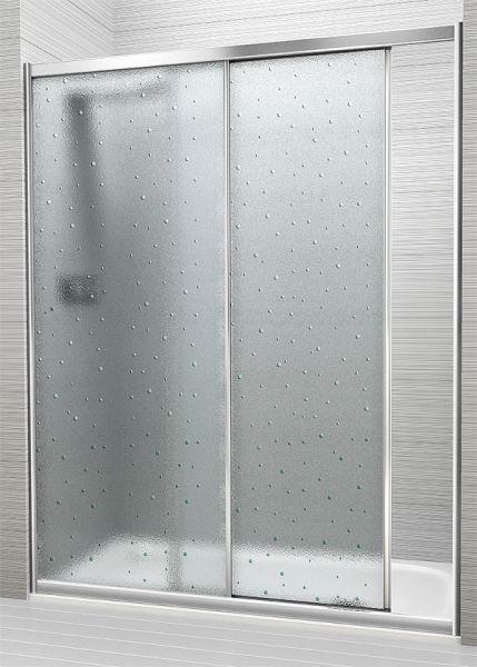 Precios de mampara de ducha corredera en plastico o - Puertas correderas de plastico ...
