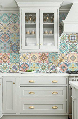 Azulejos adhesivos para renovar la cocina Belem, Portuguese and