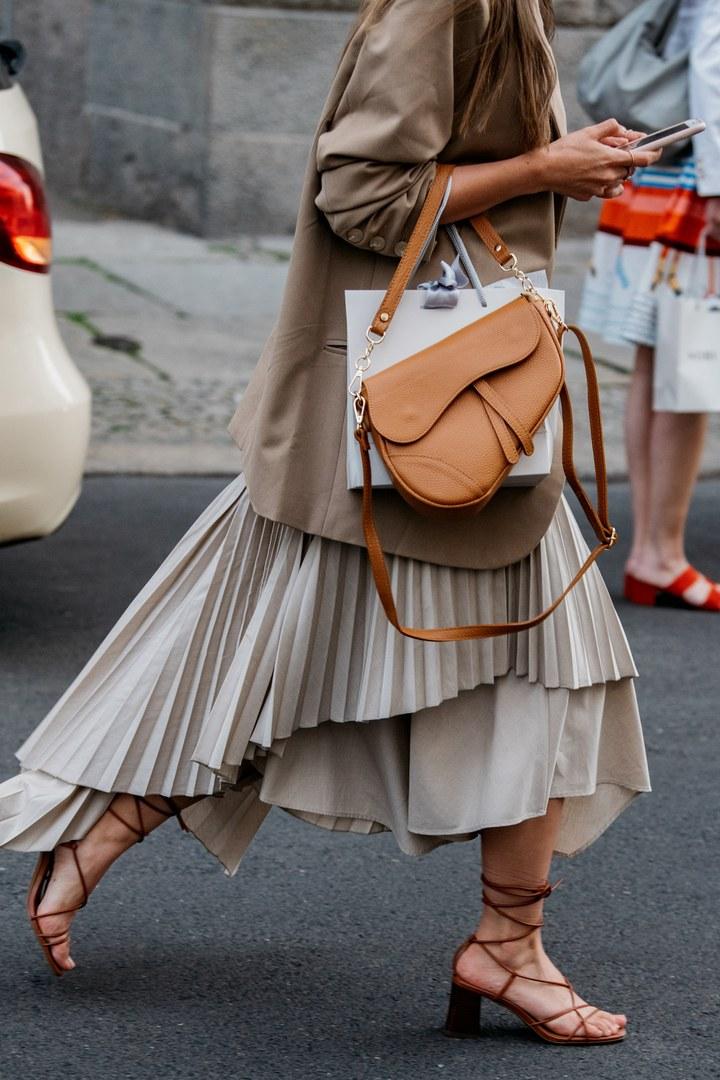 Die Street Styles der Berlin Fashion Week im Juli 2019 #bag